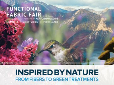 Inspired by Nature  From Fibers to Green Treatments